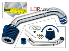 96-00 Honda Civic CX DX LX L4 EJ EK EM AIR INTAKE KIT +BLUE FILTER