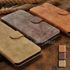 HTC One A9 Etui Wildleder Synthetisch Tasche Flip-Case Cover Schutzhülle Skin