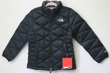 New THE NORTH FACE Girls S 7 8 Aconcagua 550-fill Down Warm Jacket PUFFER Black