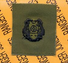 US Army 1st Class Diver badge OD Green & Black qualification cloth patch