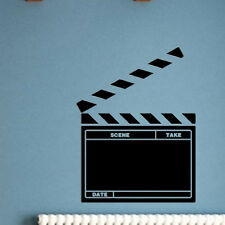 Removable Waterproof Wall Sticker Movie Clapperboard Style Room Decoration DIY