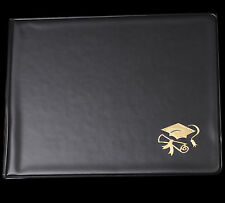 "TWO - 8"" x 10"" Diploma / Certificate Holder with Gold Foil Stamp"