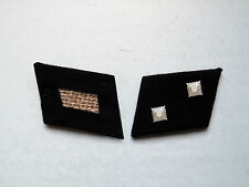 WW2 German Elite Oberscharführer (Technical Sgt.) Collar Tabs
