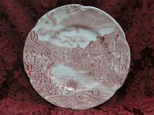 Johnson Brothers Olde English Countryside, Pink: Salad Plate (s) 7 5/8""