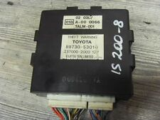 LEXUS IS 200 XE1 Sport  Steuergerät 89730-53010 237000-2000 (8)