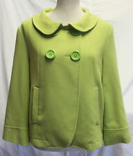 Atmosphere Green Swing 40s 50s Vintage Style Short Coat  Size 12
