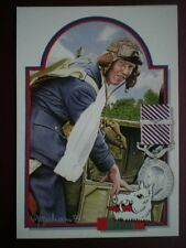 POSTCARD WWII FLIGHT LIEUTENANT H J 'GINGER ' LACEY  ABOVE & BEYOND