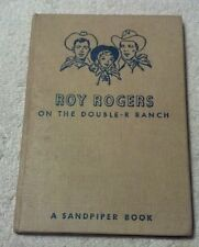 Beecher / Nordli ROY ROGERS ON THE DOUBLE-R RANCH  Sandpiper Book 1951 HC