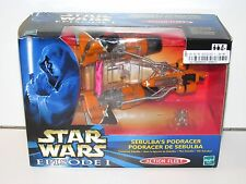 STAR WARS 1999 EPISODE I MICRO MACHINES ACTION FLEET SEBULBA'S PODRACER MISB