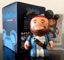 """DISNEY VINYLMATION 3"""" PARK 3 SERIES PIRATES OF THE CARIBBEAN AUCTIONEER TOY NEW"""