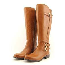 Naturalizer Jenson Wide Calf Women US 7 Brown Knee High Boot Blemish  18696