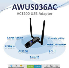 Alfa AWUS036AC 802.11ac 867 Mbps WiFi  SUCK  USB Adapter DUAL BAND 2.4/5 GHz