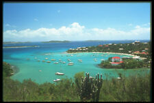 203009 Cruz Bay St John A4 Photo Print