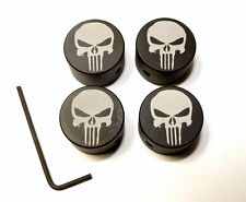 "HARLEY DAVIDSON HEAD BOLT COVERS ""PUNISHER SKULL"" Sportster FREE SHIPPING!!"