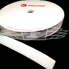 VELCRO® BRAND 50mm x 25 meters WHITE SELF ADHESIVE HOOK ONLY STICKY BACK TAPE
