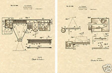 Carlson PHOTO COPIER US PATENT Art Print READY TO FRAM!! vintage xerox Copy