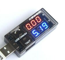 USB Charger Current Voltage Charging Detector battery Tester Volt meter Ammeter