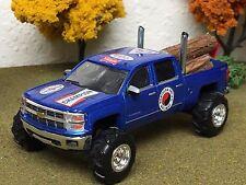 1/64 Custom Lifted G5 Lift Kit, Chevrolet Silverado, quad cab, Farm Toy Log Load