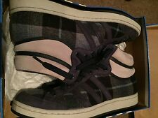 Rare Adidas Originals High-Top Trainers - Materials Of The World (USA) - UK 10