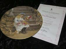 Wedgwood Ltd Ed China Collector Plate YESTERDAY'S CHILD The Flower Girl