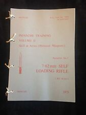 L1A1 SLR SELF LOADING RIFLE FN FAL PAMPHLET SAS PARAS FALKLANDS