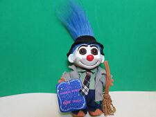 "HOBO - 5"" Russ Troll Doll - NEW WITH HANG TAG - Last One With Blue Hair"