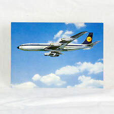 Lufthansa - Boeing 707 - Airline Issue - Aircraft Postcard - Top Quality