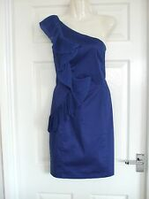Colbalt Blue Cocktail Dress Size 8 Womens Summer Party Winter Ladies Occasion