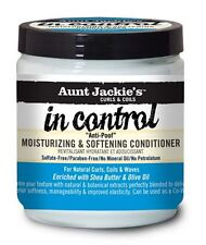 Aunt Jackie's In Control Moisturizing and Softening Conditioner, 15 oz (2 pack)