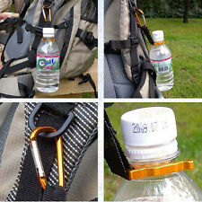 2 PCS Carabiner Water Bottle Buckle Hook Holder Clip Camping Hiking Traveling LA