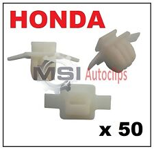 50 x HONDA CIVIC & CRV Wheel Arch Surround Moulding Trim Fastener Clips