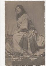 Paula Menarie Safi Zigeunerbaron Actress Vintage RP Postcard 373a