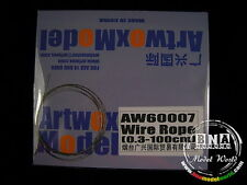 Artwox Stainless Steel Wire Rope (Diameter: 0.3mm, Length: 100cm) AW60007