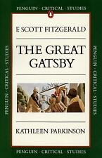 The Great Gatsby Penguin Critical Studies Guide