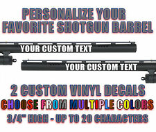 CUSTOM SHOTGUN BARREL STICKER DECAL CHOKE TUBE HUNTING DUCK WATERFOWL