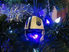DISNEY STAR WARS CUSTOM RESISTANCE PILOT HELMET DIE-CAST CHRISTMAS ORNAMENT