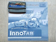 VTech InnoTab 1 2 3 3S MAX - Cars 2 - Game & Manual