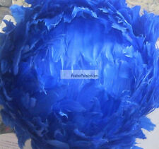Blue Large Feather Ball/Centerpiece Ball/ Wedding Ball 4 Pcs 12  inch (GA,USA)