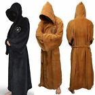 Herren Bademantel Jedi/Darth Vader Star Wars Kostüm Kapuzen Hooded Mantel Robe