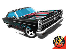 Hot Wheels Cars - '66 Ford 427 Fairlane Black