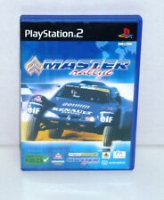 JEU PS2 COMPLET MASTER RALLYE  REF 40