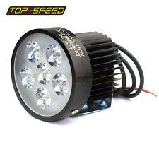 18W 6 LED Fog Headlight Spot Work Driving Light Lamp For Motorcycle Dirt Bike