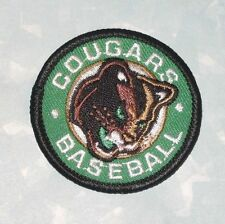 "Cane County Cougars Patch  - Baseball - 2"" x 2"""