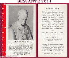 103 SANTINO HOLY CARD ANTONIO ROSMINI