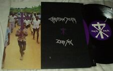 "CHRISTIAN DEATH Zero Sex/The Nascent Virion (1989) 12"" LP UK Goth Metal Jungle"