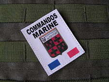 SNAKE PATCH - COMMANDOS MARINE de Monfort COS FRANCE ISAF - Article FANTAISIE