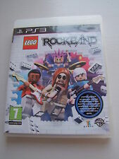 Jeux PLAYSTATION 3 PS3 LEGO ROCK BAND