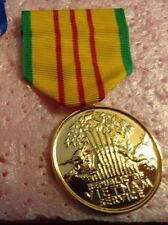 US ARMY,USN,USAF ANODIZED DRESS UNIFORM MEDAL,VIETNAM SERVICE MEDAL,