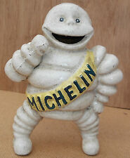 "Atractive Cast Iron 6"" tall Mr Bibendum MICHELIN MAN ... a lovely gift"