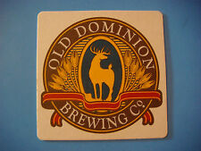 Beer Coaster ~ OLD DOMINION Brewing ~ Production Moved from Virginia to Delaware